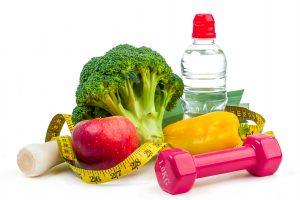 Diet and fitness concept